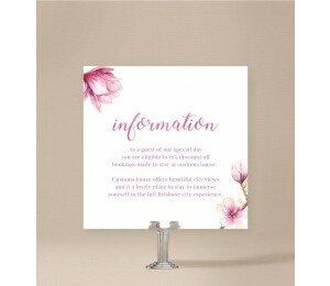 Magnolia Extra Information Card