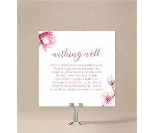 Magnolia Wishing Well Card