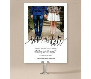 Minimalist Save The Date Cards