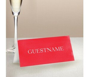 Modern Wedding Place Card