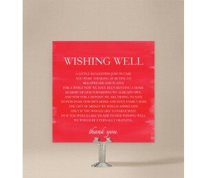 Modern Wishing Well Card