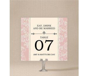 Nouveau Table Numbers
