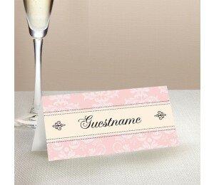 Nouveau Wedding Place Card