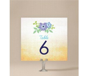 Posies Table Numbers