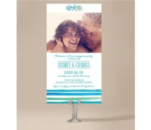 Seabreeze Engagement Invitations