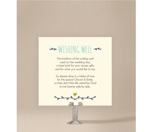 Simple and Sweet Wishing Well Card