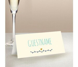Simple and Sweet Place Card