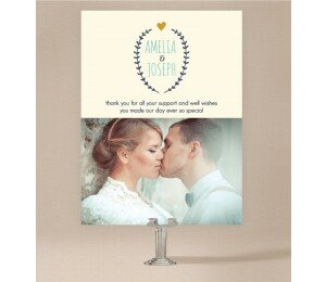 Simple and Sweet Flat Thank You Card