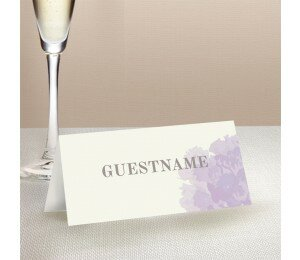 Sweet Floral Wedding Place Card