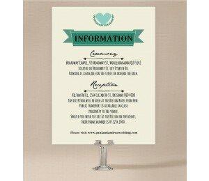 Vintage Banner Extra Information Card
