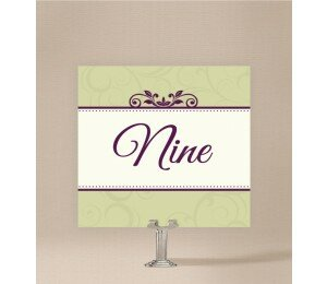 Winery Table Numbers