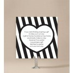 Bold Stripes Wedding Wishing Well Card