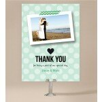 Polaroid Wedding Thank You Card