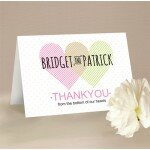 Two Hearts Thank You Card
