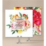 Bright Blooms Wedding Invitations
