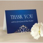 Classique Thank You Card