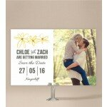 Daisy Chain Save The Date Cards