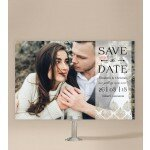 Deco Fans Save The Date Cards