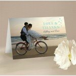 Decorative Heart Thank You Card