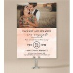 Innocent Engagement Invitations