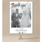 Minimalist Wedding Thank You Card