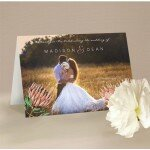 Native Beauty Wedding Thank You Card