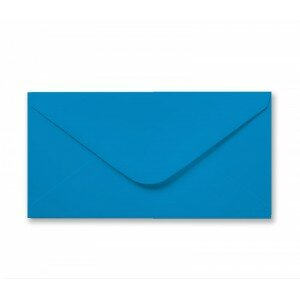 Bright Blue DL Envelope 100gsm