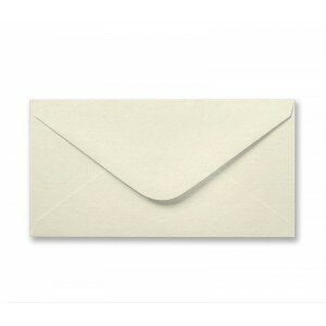 Cream Textured (Linen) DL Envelope 100gsm