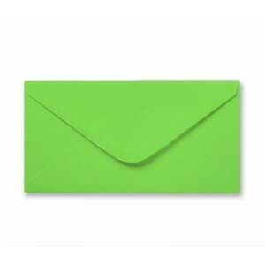 Lime Green DL Envelope 100gsm