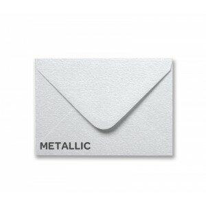 Metallic Snow White A7 Envelope