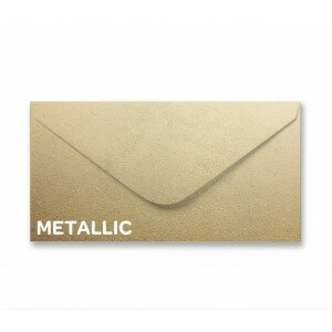 Metallic Soft Gold DL Envelope