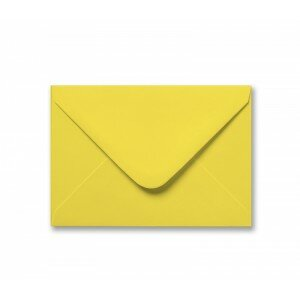 Yellow C6 Envelope 100gsm