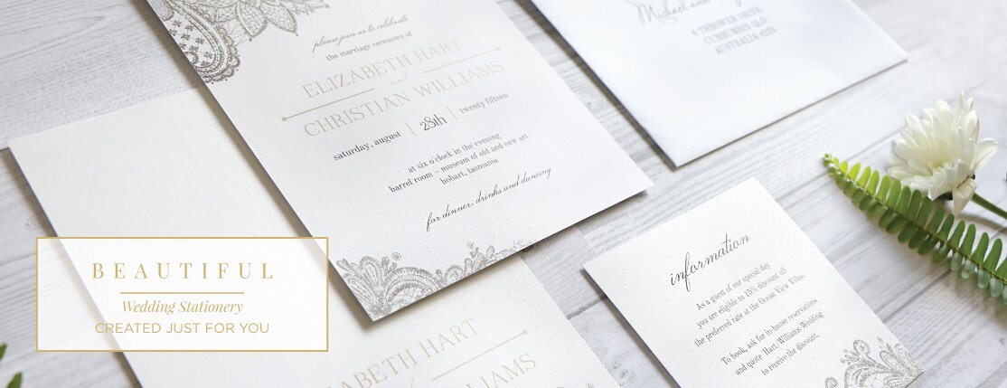 Wedding Invitations Cards Online From Love Struck Invites Australia